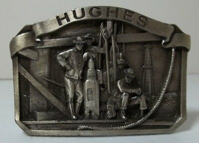 Hughes Tool Belt Buckle Everyday We Make Drilling History Hughes Tool Division
