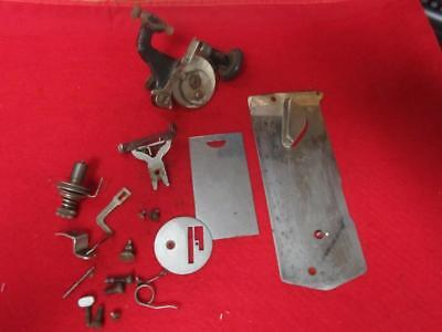 Vintage Misc Parts From A New Home  Treadle Sewing Machine
