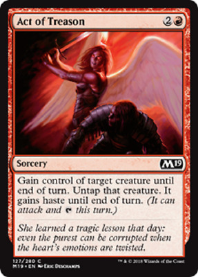 4x Totally Lost PLAYSET Magic Core 2019 MTG Common English MINT