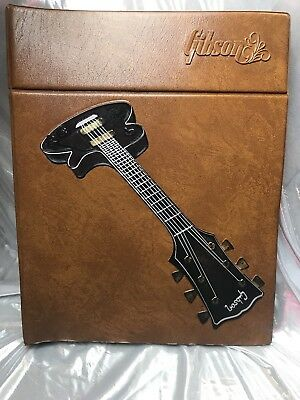 Gibson Guitar  Counter Catalog Published In 1975  Rare  Mint Condition