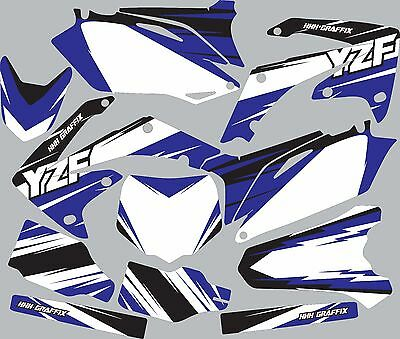 Graphic Kit for 2003-2005 YZ250f YZ 250f YZF 250 shrouds fender plastic decals