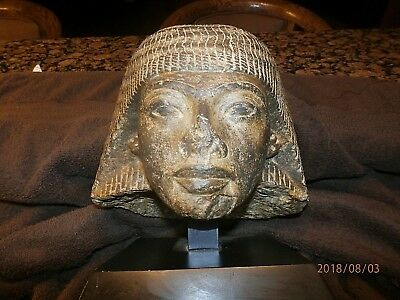 Ramses I Granite Carved Head (off statue).  See Below - RARE!