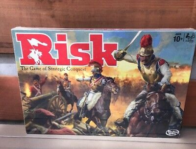 Hasbro Gaming Risk The Classic Board Game of Strategic Conquest 2015 NEW SEALED
