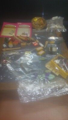 Lot of Dollhouse Miniatures with Free Shipping!!!!