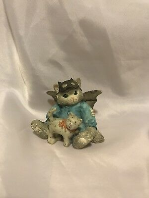 """Enesco Calico Kittens """"There's No Masking Our Friendship"""" Collectible Figurine"""