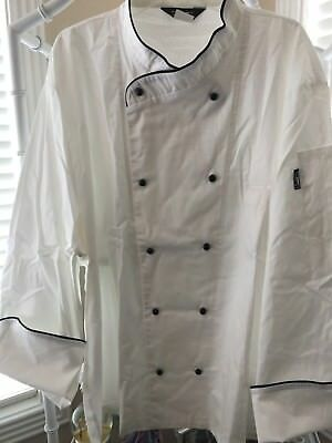 Unisex 1st Quality 100% Cotton Chef Coats Sizes: 36, 38,42-54 Price 10.00