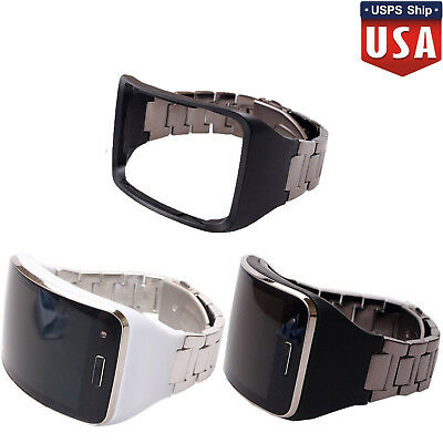 Stainless Steel Wristband Strap Bracelet For Samsung Galaxy Gear S SM-R750