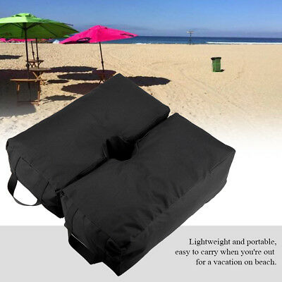 Weight Sand Bag For Umbrella Base Stand 2 Detachable Bags Square Patio Outdoor
