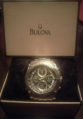 Bulova Precisionist 96B175 Wrist Watch for Men