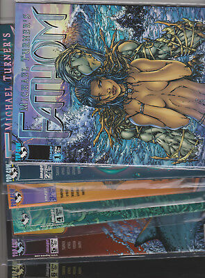 FATHOM, Lot of 21 - NM-MINT #1 to 12,14 + 3 Variant Issues & 5 Specials...WOW!!!
