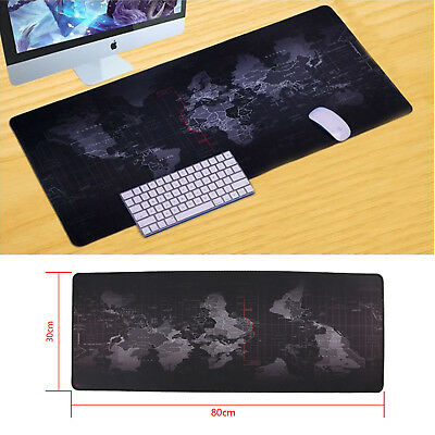 Extended gaming wide large computer mouse pad world map desk mat big useful world map large cloth extended rubber gaming mouse desk pad mat office gumiabroncs Images