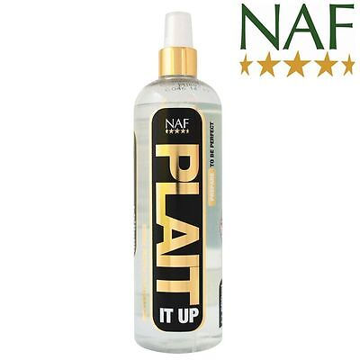 NEW NAF Plait It Up holding spray equine horse pony - grooming & showing