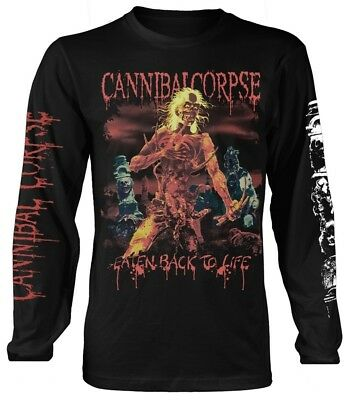 Cannibal Corpse 'Eaten Back To Life' Long Sleeve Shirt - NEW & OFFICIAL!