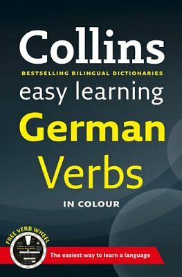 Easy Learning German Verbs: with free Verb Wheel (Collins Easy Learning German)