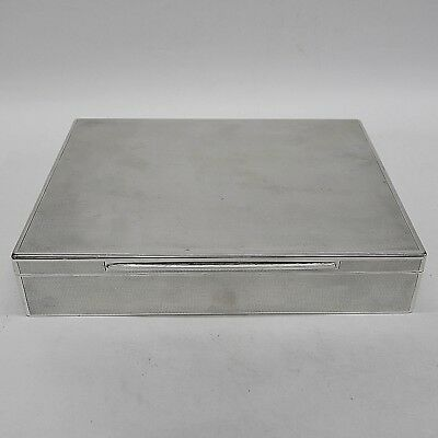 Vintage Silver Box by Asprey Made by ASPREY London 1928. Stock ID 9191