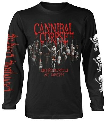 Cannibal Corpse 'Butchered At Birth Baby' Long Sleeve Shirt - NEW & OFFICIAL!
