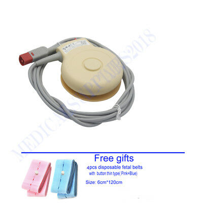 M2734B Fetal TOCO Transducer for FM20 FM30 Patient Monitor 8pin