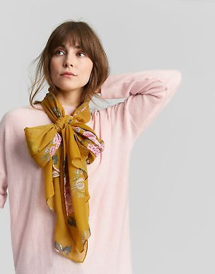 Joules Wensley Scarf ONE in Gold Chinoise in One Size