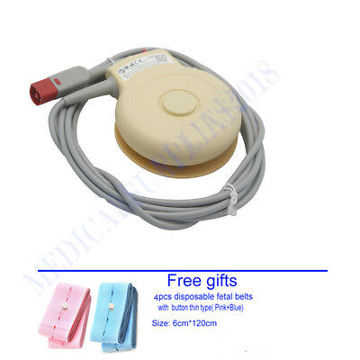 M2735A Fetal TOCO Transducer for FM20 FM30 Patient Monitor 8pin