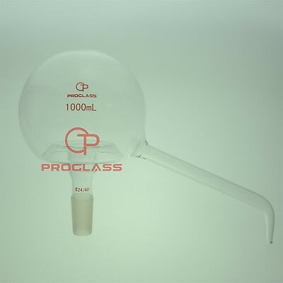 Proglass Glass 1000mL Pelican Distillation head 24/40 outer Taper Joint