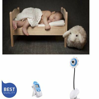 Cute Wireless Security Camera Baby Monitor Audio Night Vision 1.5 inch LCD BR