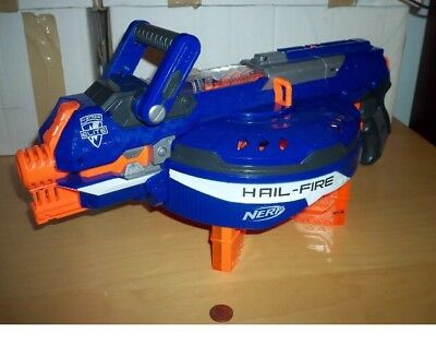 Nerf Hail-Fire N-Strike Elite Gun, 4 Clips, See Others & Combine Postage