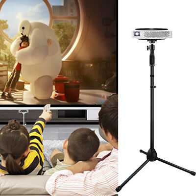 """Laptop Projector Stand Heavy Duty Tripod Mount Height Adjustable 28"""" To 58"""""""