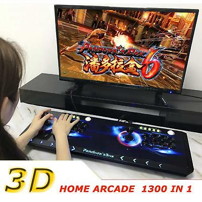 2018 Newest Pandora's box 6S Retro Home Arcade Video Game 1300 Games in 1 System