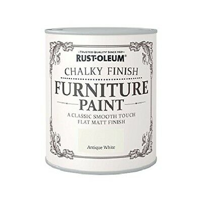 Rust-Oleum Chalk Chalky Furniture Paint Shabby Chic Vintage 125ml/750ml - Colour