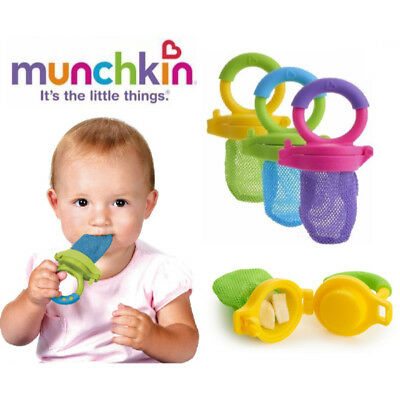 Baby Weaning Fresh Solid Food Feeder Fruit Veg Safe Meal Dispenser BPA FREE