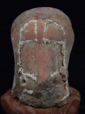 Ancient Teracotta Mother Goddess Head Indus Valley 2000 BC #TR15263