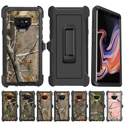 Samsung Galaxy Note 9 8 Camo Realtree Defender Case Cover Fit Otterbox Clip Belt