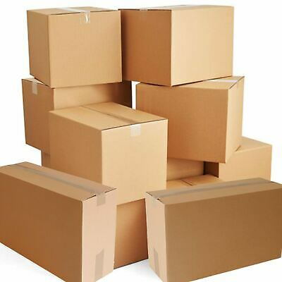 5 10 20 40 x Large Strong Cardboard Boxes Multi Size Postal House Moving Cartons
