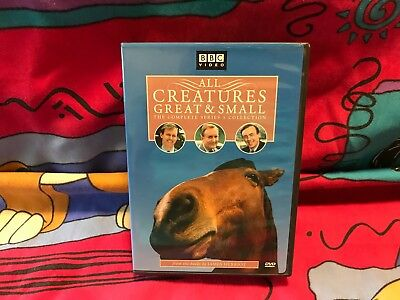 BBC Video All Creatures Great & Small Complete Series 5 Collection DVD TV Series