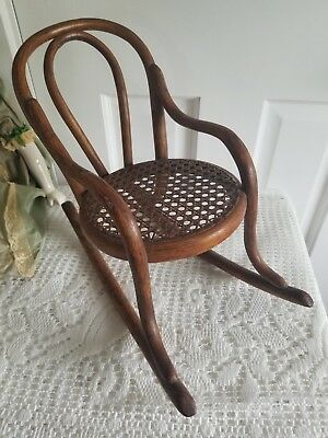 Antique Thonet Bentwood Rocking Chair