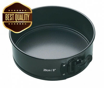 KitchenCraft Master Class Non Stick Quick-Release Springform Cake Tin with...