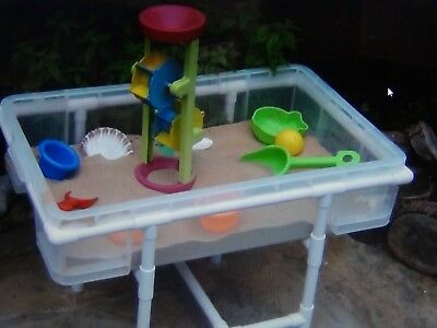 sand and water play table indoor outdoor sandpit childs sensory table
