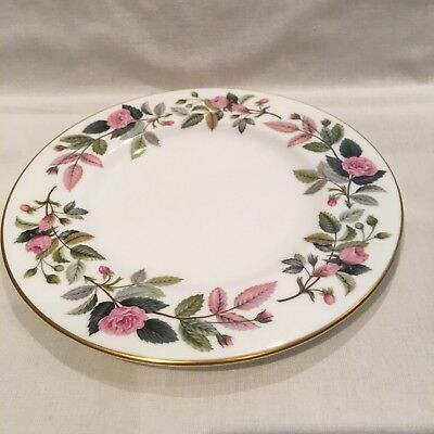 "Wedgwood Hathaway Rose 7"" side plates"