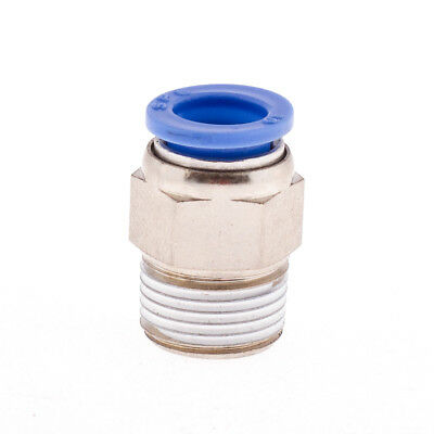 Male x Straight Adaptor Pneumatic Push-Fit or Push-In Fittings.