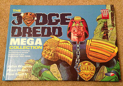 The Judge Dread Mega Collection - Hard Back Book