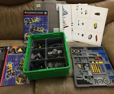 LEGO MINDSTORMS FOR Schools 9785 9786 PARTS LISTING (incomplete)