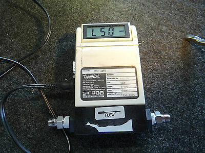 Sierra Instruments  Top-Trak MAS-1006 Mass Flow Meter  w/ Power adapter