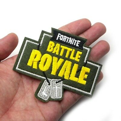 Fortnite Battle Royale Iron-On Patch (Playstation Xbox Nintendo Game US Seller)