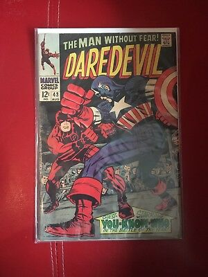 Daredevil Issue 43 Classic Jack Kirby Cover From 1963