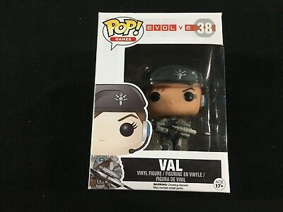 Val from Evolve Games #38 Funko Pop Action Figure Brand New in Box