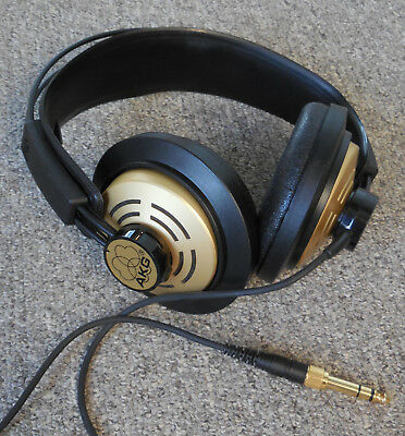 AKG K141 Headphones - - Mint Condition - - New AKG Ear Pads - - Two Available