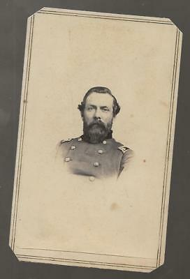 Civil War CDV Lt Colonel David K Wardwell 38th Mass Vols, Resident Tombstone AZ