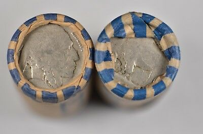 Shotgun Roll of 40 Dateless Buffalo Nickels