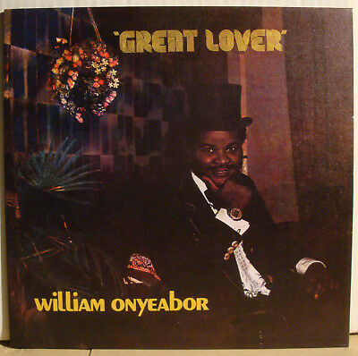 LP WILLIAM ONYEABOR - Great Lover  1981/2015