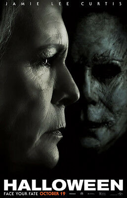 "Halloween Art Poster 40x27"" 36x24"" 21x14"" 2018 Movie Film Print Silk"